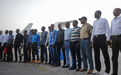 41 Somali pirates finally sent home in special chartered flight
