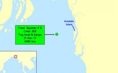 ReCAAP ISC: Tug boat robbed off Bangladesh